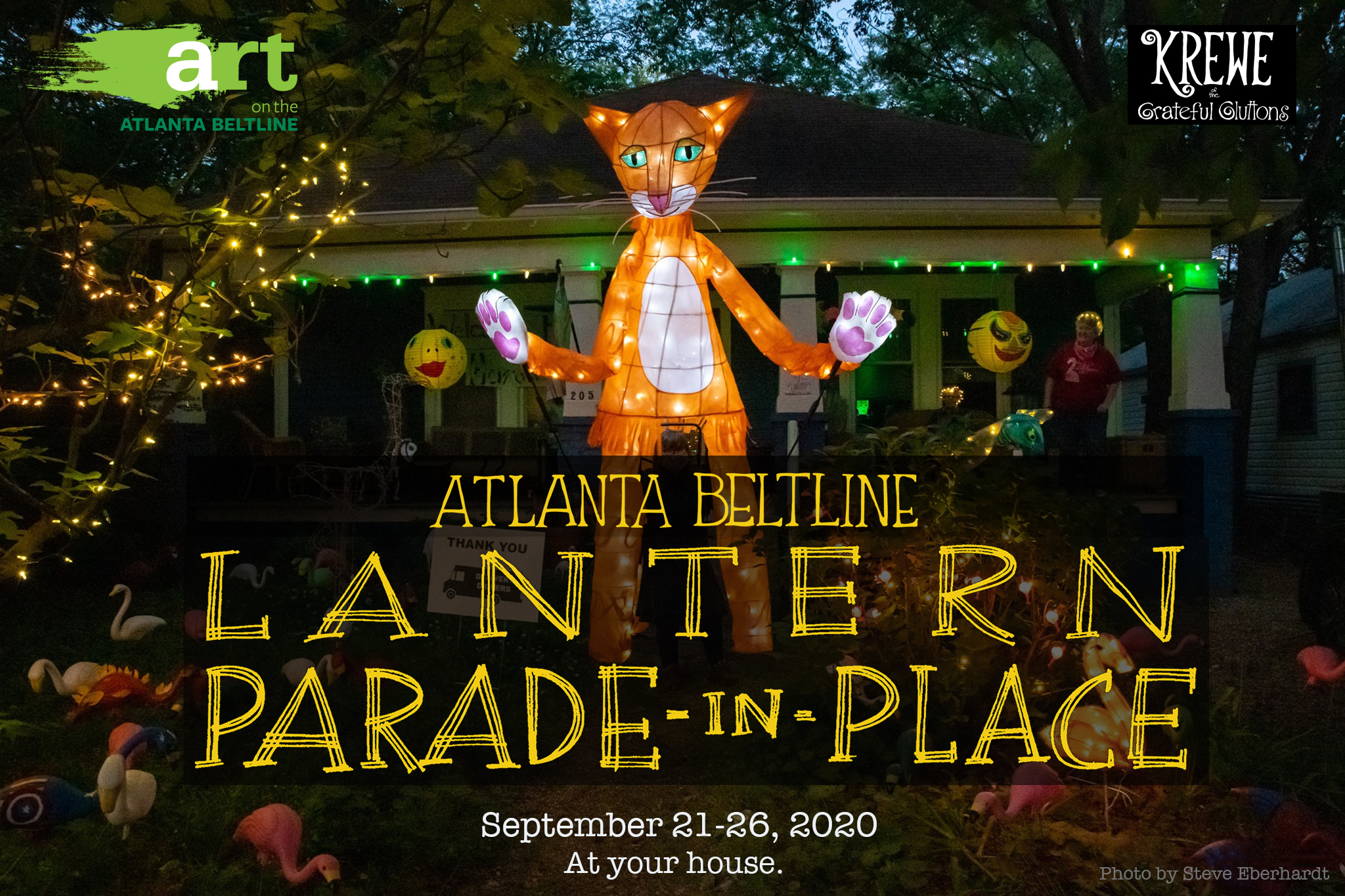 Atlanta BeltLine Lantern Parade-in-Place 2020 event graphic